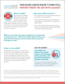 MRD Fact Sheet