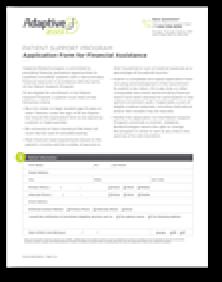 Adaptive Assist™ Application Form