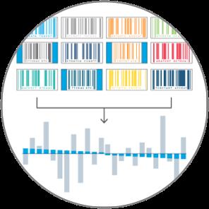Built-in synthetic immune repertoire